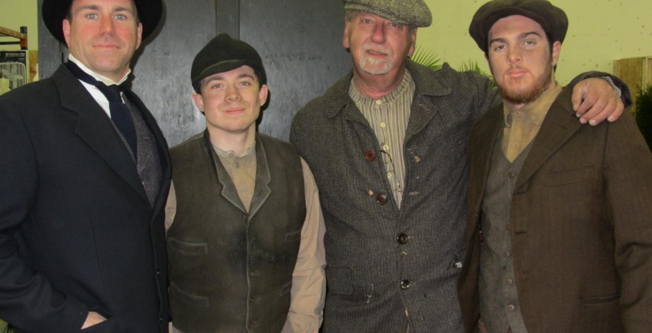 Gilded Lilys - Dennis with fellow actors